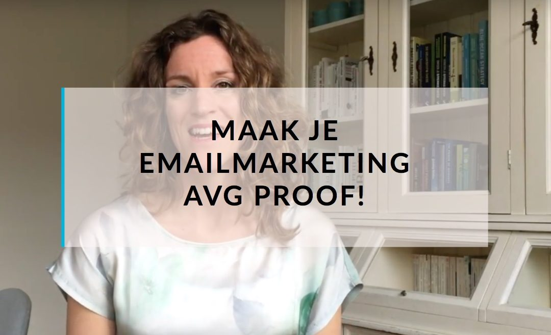Maak je emailmarketing AVG proof