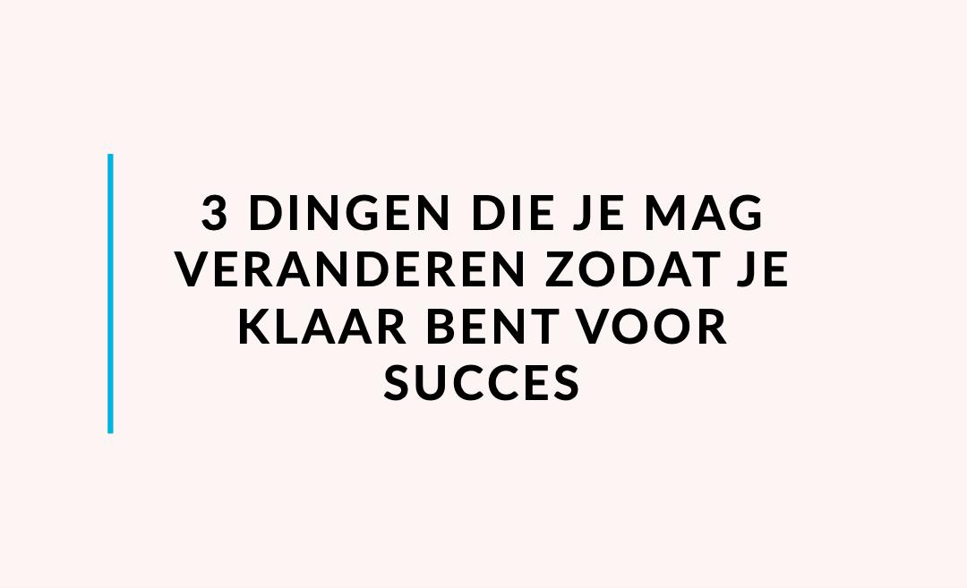 Maak je bedrijf klaar voor succes